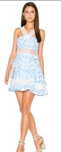 Lucca Couture Haltertop Lace Mini Dress XS NWT